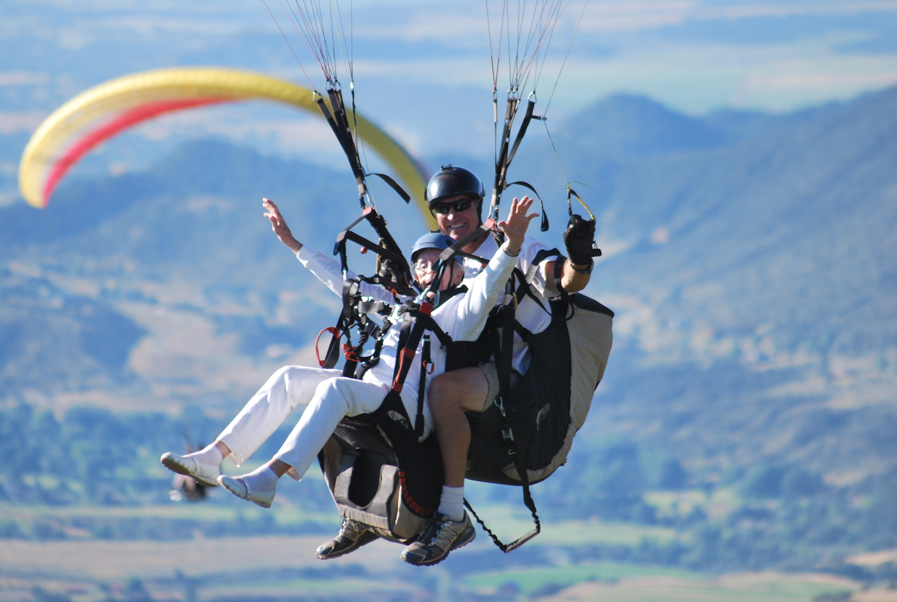 Paragliding in Glenwood Springs Colorado, Tandem Paragliding Flights